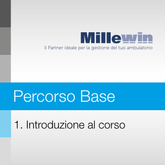 Millewin – Corso BASE – 1. Introduzione