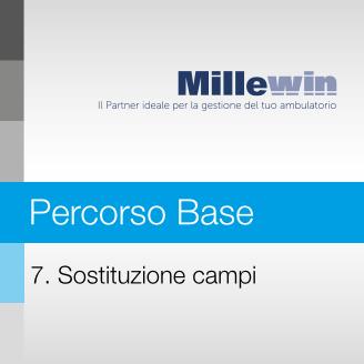 Millewin – Corso BASE – 7. Sostituzione campi