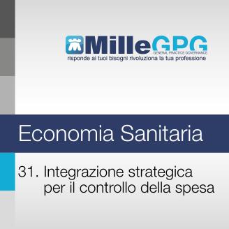 31) Integrazione strategica per il controllo della spesa