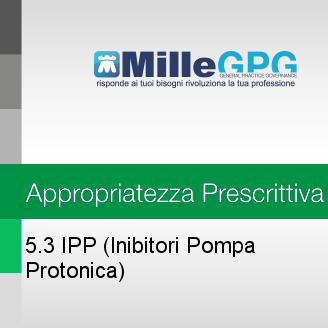 MilleGPG – IPP (Inibitori Pompa Protonica)