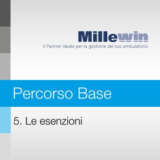 Millewin – Corso BASE – 5. Le esenzioni