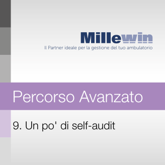 9) Un pò di self-audit