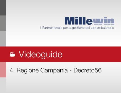 Millewin – Attuazione del decreto 56 Campania