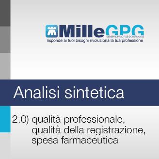 Qualità professionale, qualità della registrazione, spesa farmaceutica