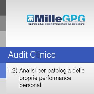 Analisi per Patologia delle proprie Performance Personali