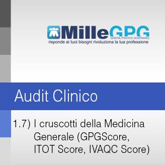 MilleGPG – I cruscotti della Medicina Generale (GPGScore, ITOT Score, IVAQC Score)