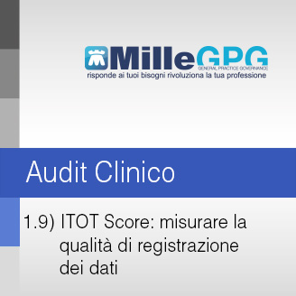 MilleGPG – ITOT Score: misurare la qualità di registrazione dei dati