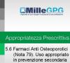 5.5) Utilizzo appropriato dei farmaci e rispetto delle note AIFA