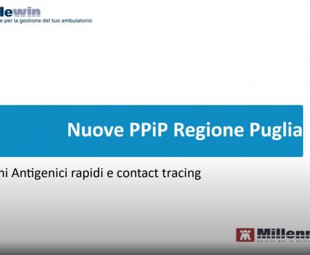 Registrazione ed invio PPiP Regione Puglia