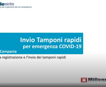 Campania: Invio Tamponi Rapini COVID-19