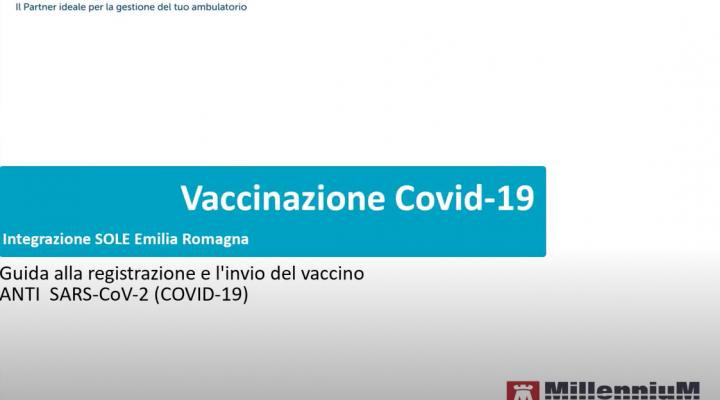 SOLE Emilia Romagna – Invio delle vaccinazioni Anti SARS-CoV-2 (Covid-19) Vaccino Covid